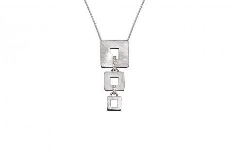 Quadrate in Silber
