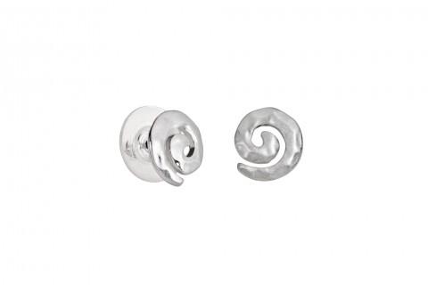 Spirale in Silber