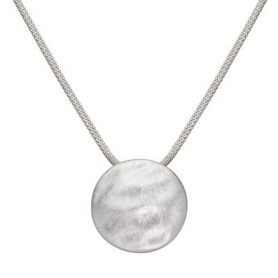 Großer Mond in Silber mit Scratch