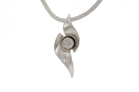 Edelweiss in Silber