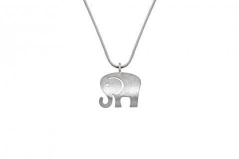 Elefant in Silber