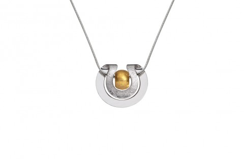 Silberschwung mit goldener Mitte