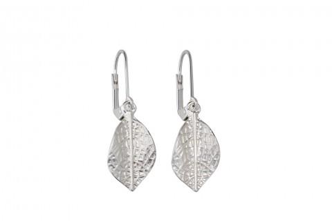 Blätter in Silber
