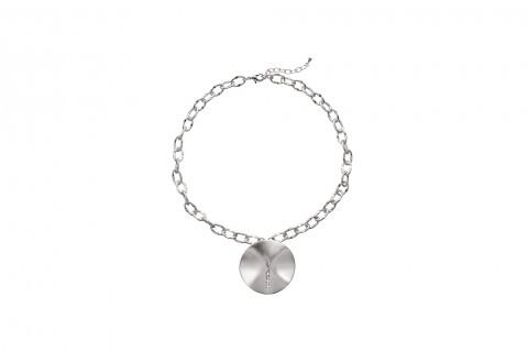 Silberkreis mit Steinen