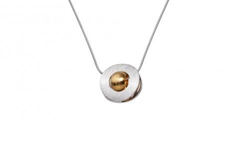 Silberkreis mit Goldener Mitte