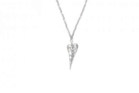 Liebe und Herz in Silber