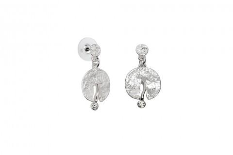 Traumkreis mit Stein in Silber
