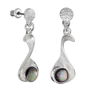 Runde Harmonie in Silber und Perlmutt