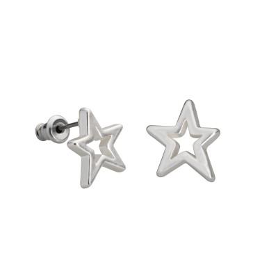 Sterne in Silber