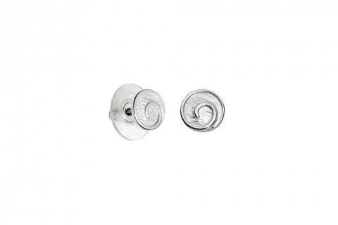 Kreisel in Silber