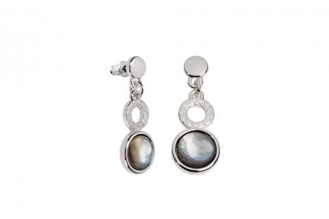 Ringe in Silber und Steine in Perlmutt