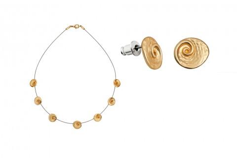 Ammonit Traum in Gold
